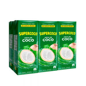 SuperCoco Agua de Coco 1200ml